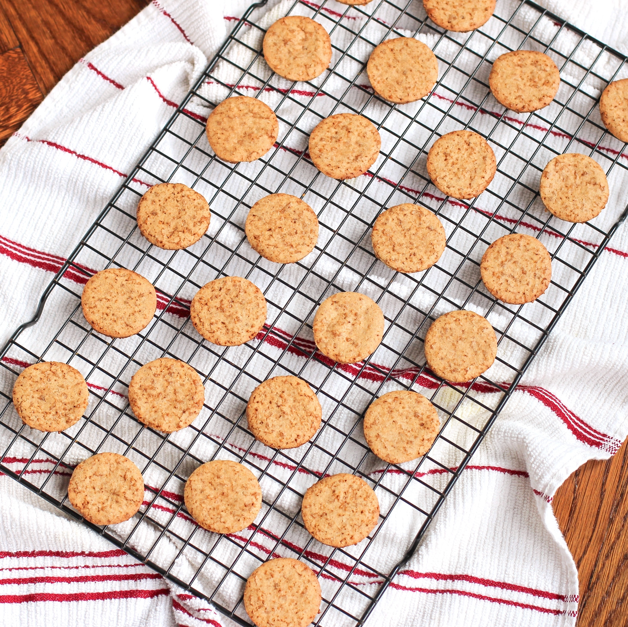 These Healthy Homemade Graham Crackers are crunchy, sweet, and addicting...  you'd never know they're low fat, low sugar, gluten free, and vegan too!