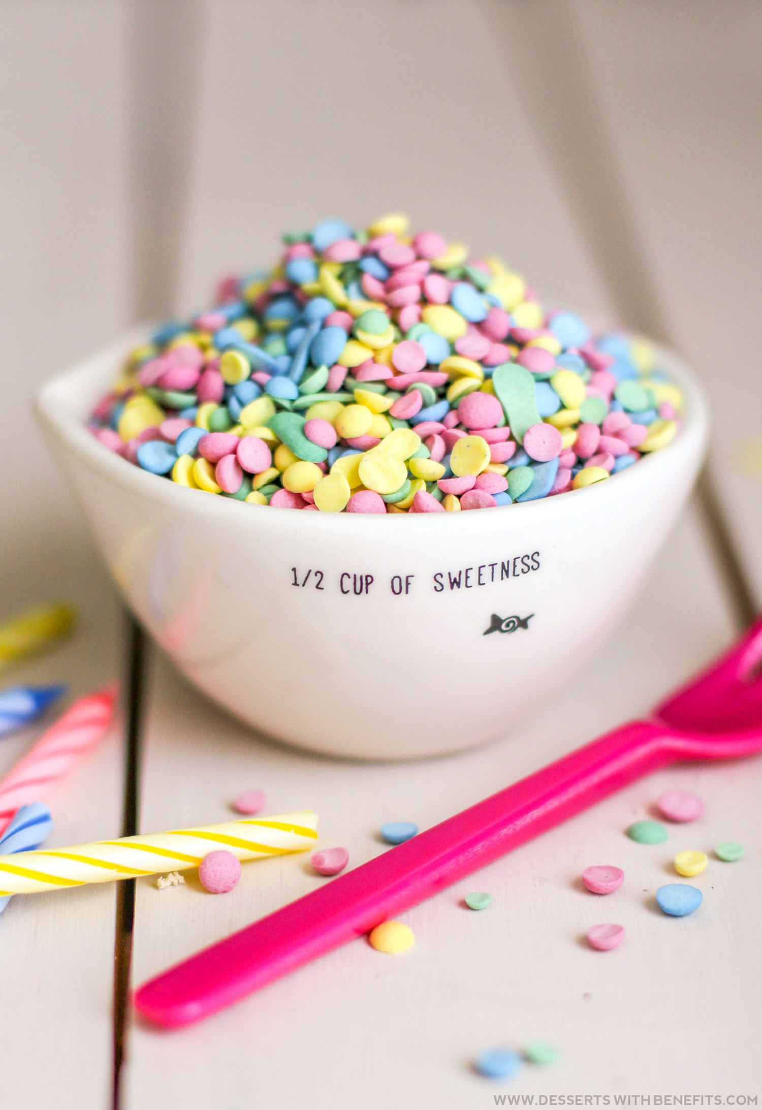 Healthy Homemade Rainbow Sprinkles and Confetti