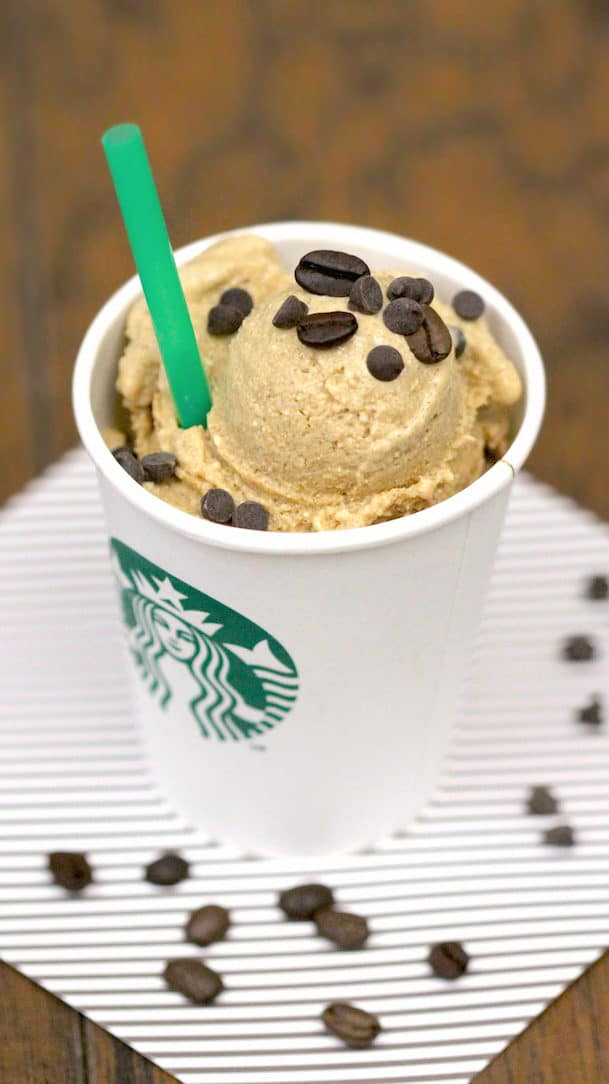 Healthy Iced Coffee Ice Cream - The Desserts With Benefits Blog