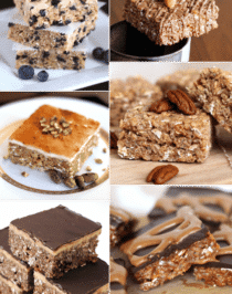 13 Healthy Krispy Treats Recipes (gluten free) - Desserts with Benefits