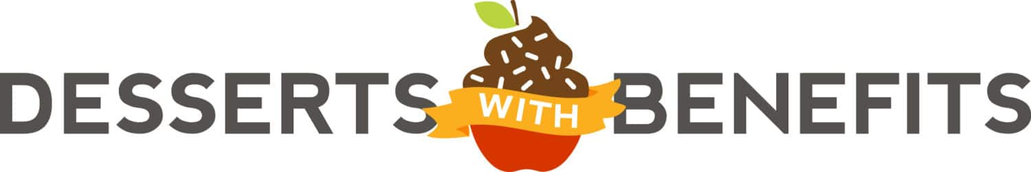 Blogger Business Goals: From Student to Blogger to Author to... what's next? -- Desserts With Benefits Logo