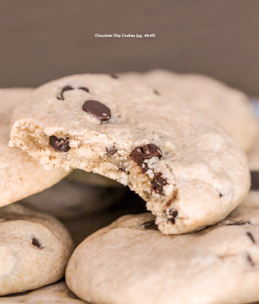 Healthy Chewy Chocolate Chip Cookies recipe (refined sugar free, gluten free, dairy free, vegan) - Healthy Dessert Recipes at Desserts with Benefits