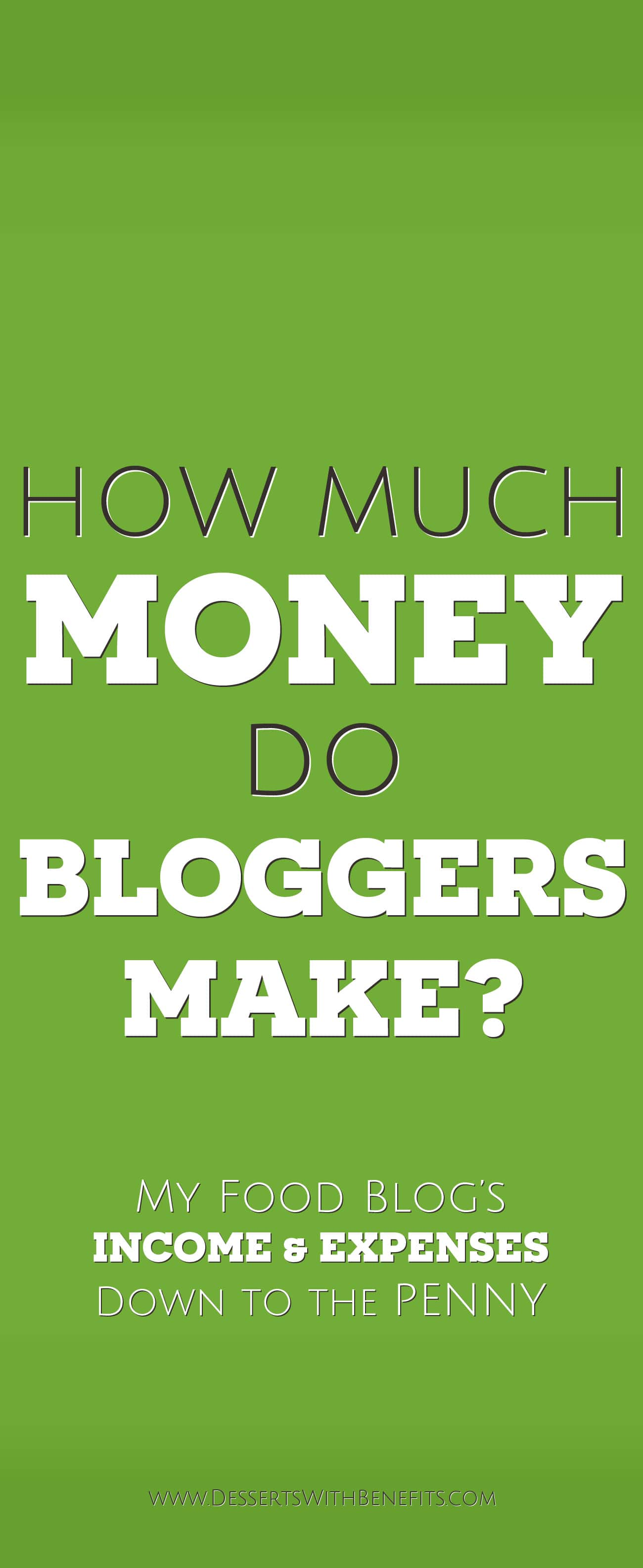 How Much Money Do Food Bloggers Make? Jessica Stier of the Desserts With Benefits Blog