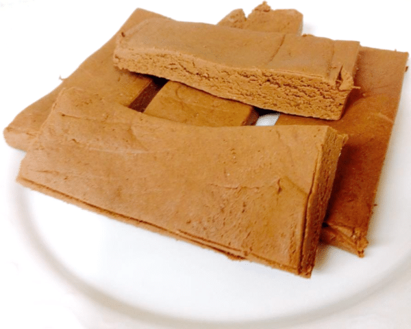Healthy Mo-tella Fudge DIY Protein Bars from the DIY Protein Bars Cookbook – authored by Jessica Stier of the Desserts with Benefits Blog