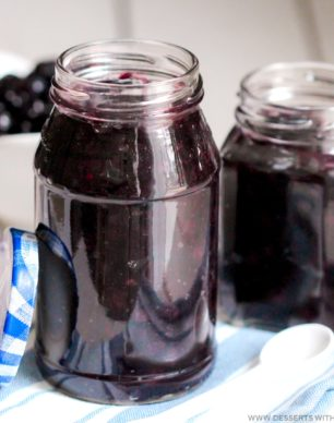 Healthy Blueberry Compote Topping recipe (all natural, refined sugar free, fat free, gluten free, dairy free, vegan) perfect for topping pancakes, waffles, oatmeal, yogurt, cheesecake, pound cake, and much much more! -- Healthy Dessert Recipes at Desserts with Benefits