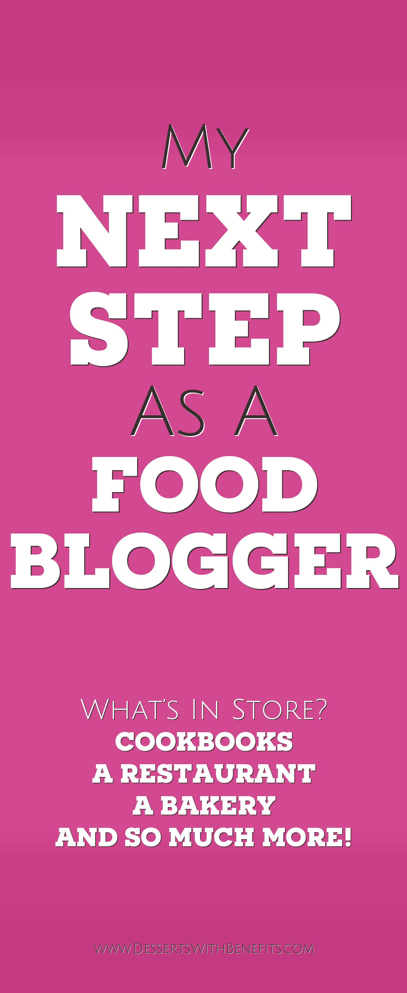 Taking Blogging to the NEXT STEP -- Blogger to Bakery Owner? Jessica Stier of the Desserts With Benefits Blog