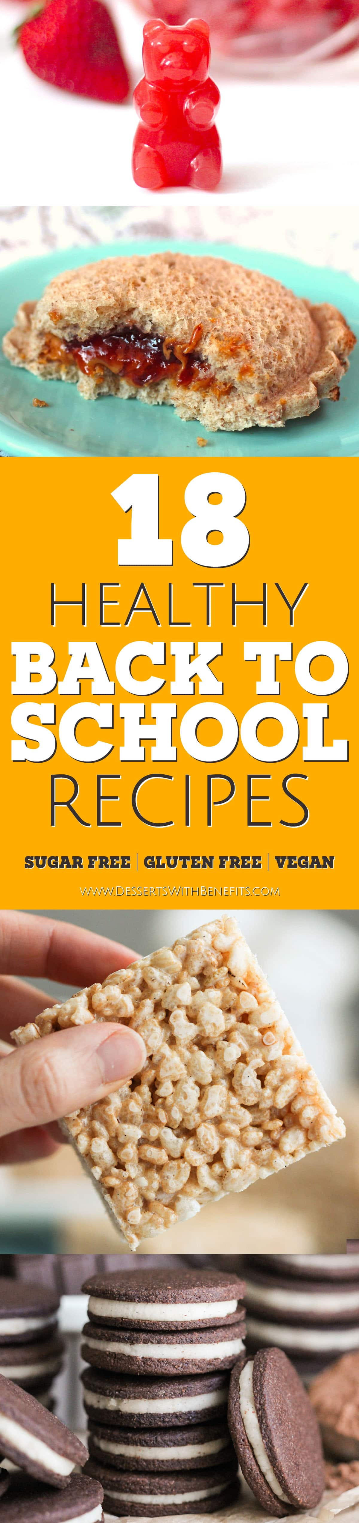 18 Healthy Back To School Recipes Roundup