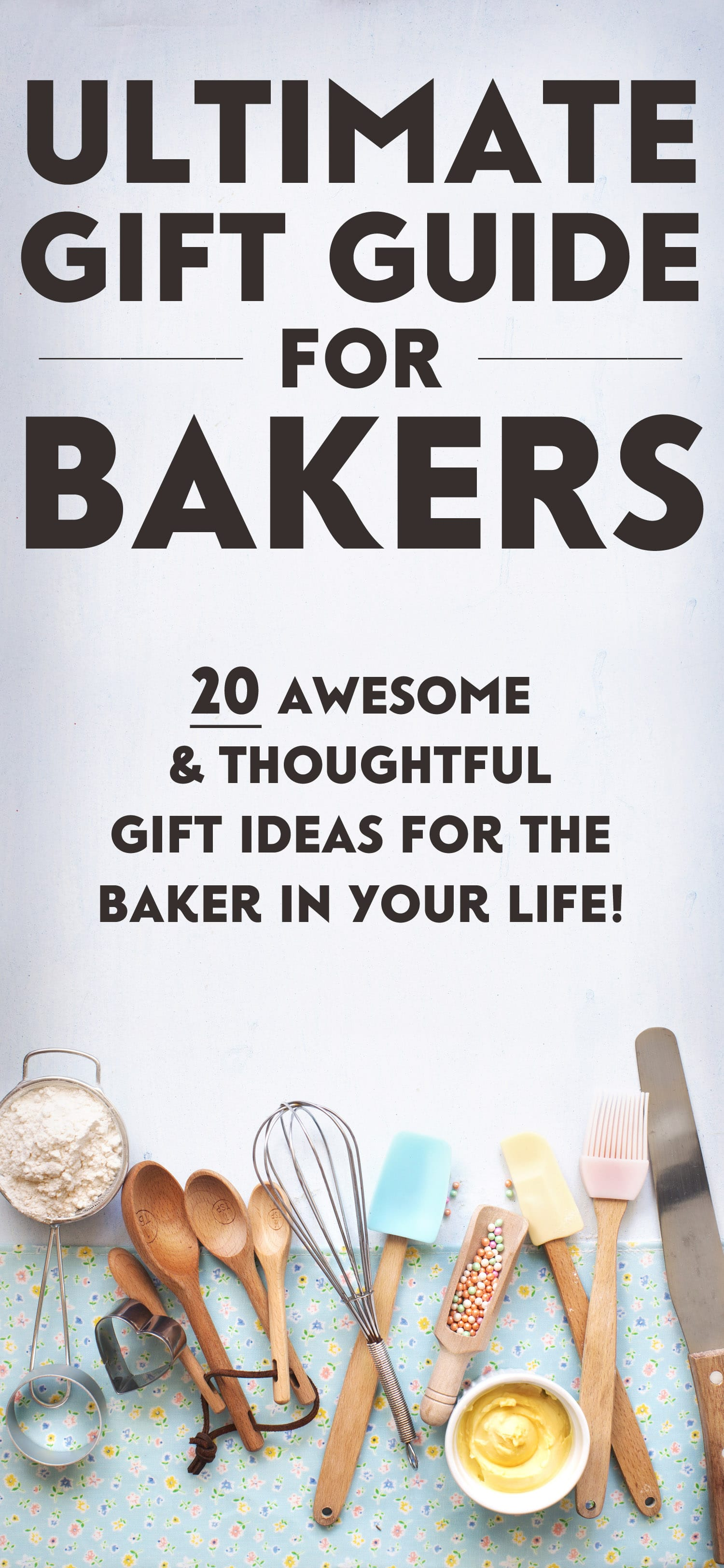 The Ultimate Foodie Gift Guide 20 Gift Ideas For Bakers And Chefs