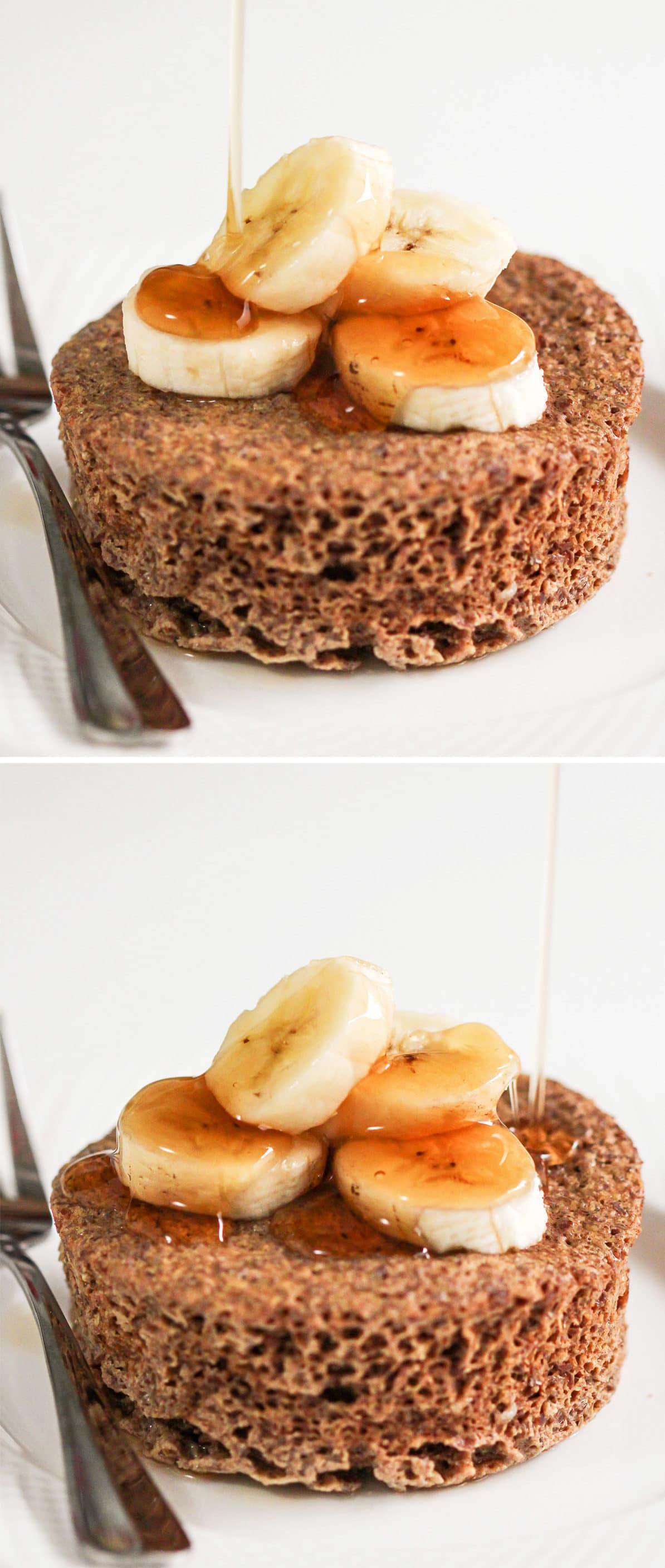 You can make this Healthy Single-Serving Flaxseed Microwave Muffin in just 5 minutes flat! This soft, springy, sweet, and hearty muffins makes the perfect balanced breakfast, snack, and dessert. It's hard to believe it's sugar free, low carb, high protein, high fiber, AND gluten free too! Plus, it's full of nutritious omega-3 fatty acids, vitamins and minerals. Healthy dessert recipes at the Desserts With Benefits Blog (www.DessertsWithBenefits.com)