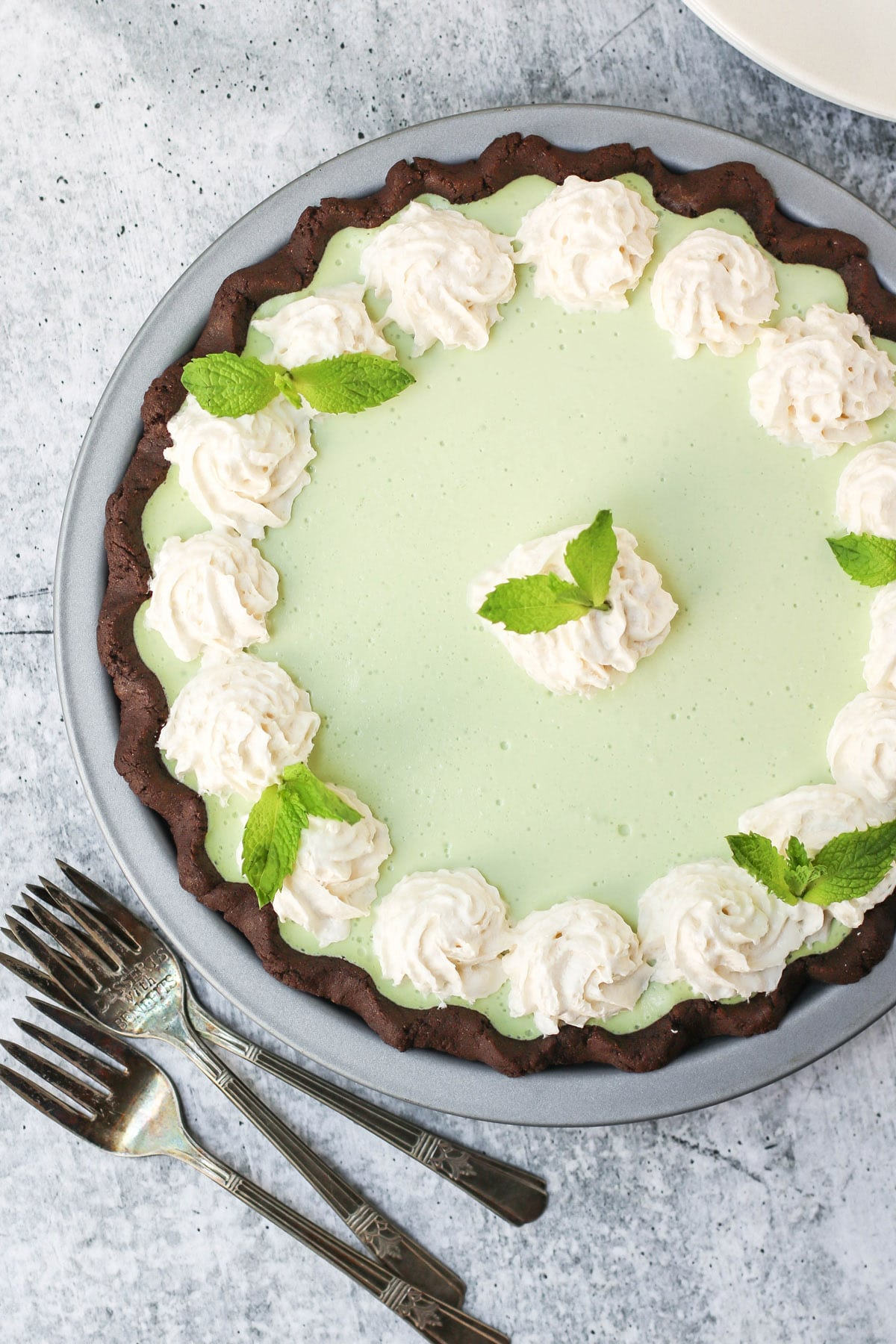 Healthy Grasshopper Pie