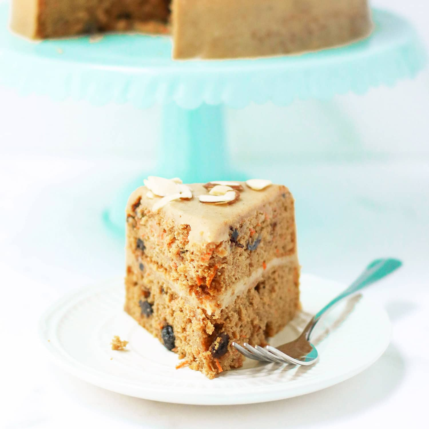 Healthy Whole Wheat Carrot Cake